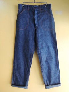 〜1960's WOODS Denim Painter Pants Deadstock