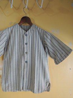 〜1930's striped cotton BaseBall Shirts