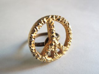 1970's Remake PEACE-SIGN Ring