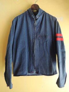 <img class='new_mark_img1' src='https://img.shop-pro.jp/img/new/icons44.gif' style='border:none;display:inline;margin:0px;padding:0px;width:auto;' />1970's motocross denim padded jacket
