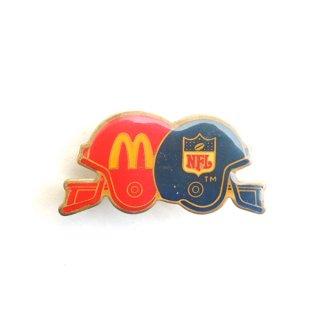 1980's McDonald Pins - NFL Helmet design
