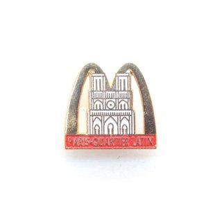 1980〜90's McDonald Pins - PARIS QUARTIER LATIN design