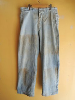 〜1940's PIN-CHECK Work Pants