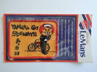 1970's YAMAHA GO SIDEWAYS Patch DEADSTOCK