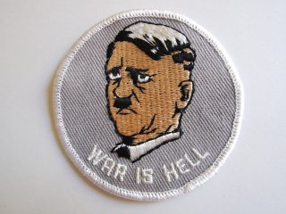 <img class='new_mark_img1' src='https://img.shop-pro.jp/img/new/icons53.gif' style='border:none;display:inline;margin:0px;padding:0px;width:auto;' />1970's WAR IS HELL Patch DEADSTOCK