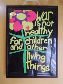 1967 war is not healthy ... Poster Deadstock