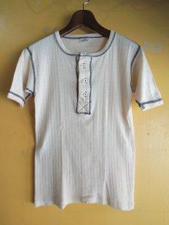 1960's henley neck Tshirts by Sportswear