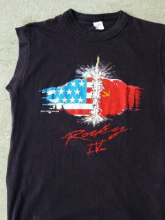 1985 ROCKY4 by SILVESTER STALLONE Sleeveless T-shirts