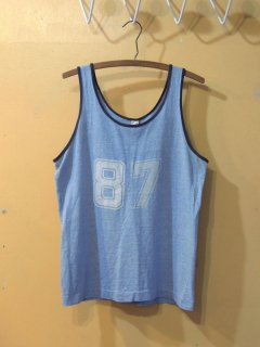 1960's〜 Sportswear products Rayon brend Tank-Top - made in U.S.A