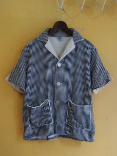 <img class='new_mark_img1' src='https://img.shop-pro.jp/img/new/icons44.gif' style='border:none;display:inline;margin:0px;padding:0px;width:auto;' />〜70's Rugby Gingham-Check Beach Shirts