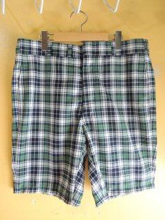 1960's preppy plaid shorts by CORBIN