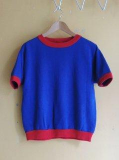 1970's Sportswear Quality Knit 2-tone S/S Sweat