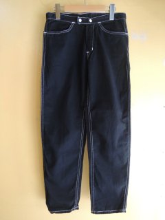 <img class='new_mark_img1' src='https://img.shop-pro.jp/img/new/icons44.gif' style='border:none;display:inline;margin:0px;padding:0px;width:auto;' />1960's BLACK cotton Tapered Jeans
