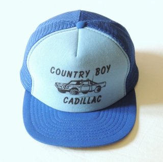 <img class='new_mark_img1' src='https://img.shop-pro.jp/img/new/icons2.gif' style='border:none;display:inline;margin:0px;padding:0px;width:auto;' />1980's COUNTRY BOY CADILLAC  Mesh-Cap