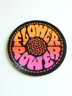 〜1970's FLOWER POWER Coaster by PANDORA PRODUCTIONS - DEADSTOCK