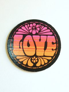 〜1970's LOVE Coaster by PANDORA PRODUCTIONS - DEADSTOCK