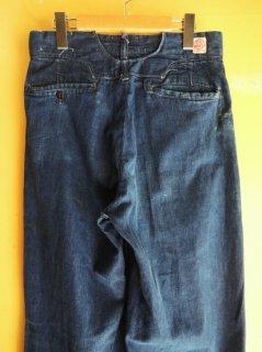 〜1940's Denim Trousers by TUF NUT