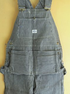 DEADSTOCK ! 〜1960's HERCULES Hickory-Stripe Overalls with Apron