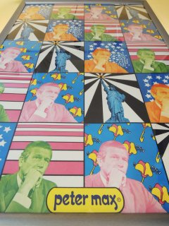 1960's MAYOR LINDSAY Poster by peter max