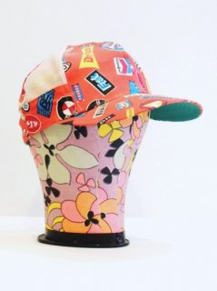 1960〜70's all-over-prints Snap Back Cap