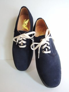 New! MARK MCNAIRY NAVY SUEDE PLAIN DERBY Shoe