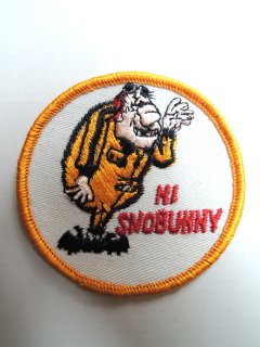 1970's HI SNOWBUNNY Patch Deadstock