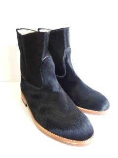 New! MARK MCNAIRY Pony Hair Jet Boot
