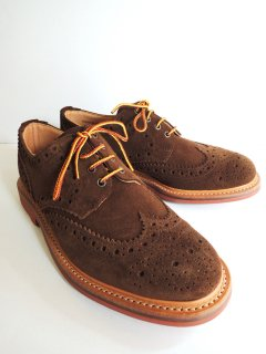 New! MARK MCNAIRY Snuff Suede Country Brogue