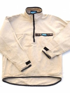 1990's KAVU Canvas Duck Pull Over Jacket - made in U.S.A