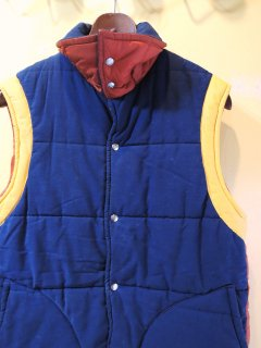 1970〜1980's Golden Fleece multi-color VEST MADE IN USA