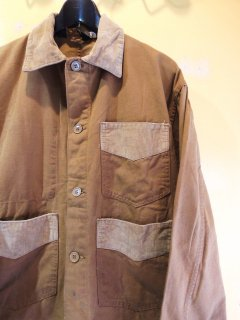 <img class='new_mark_img1' src='https://img.shop-pro.jp/img/new/icons2.gif' style='border:none;display:inline;margin:0px;padding:0px;width:auto;' />70's Weather Jack by ELY WALKER Brown-Duck JACKET
