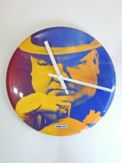 〜1970's wall clock by peter max