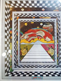 〜1970's COSMIC WINDOW by peter max