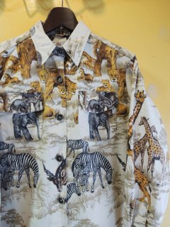 all-over-print SAFARI shirts by ABERCROMBIE & FITCH