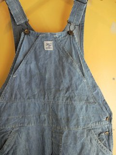 1950's SWEET-ORR Hickory-Striped Overalls