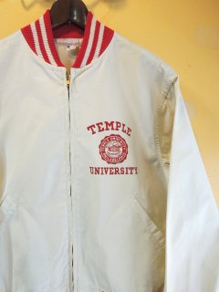 1950〜60's TEMPLE UNIVERSITY JACKET by CHAMPION