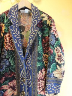 cotton Gobelins JACKET by Printed Pony MADE in USA