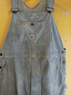 1950's HICKORY-STRIPED OVERALLs by BLACK BEAR