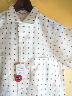 1960's deadstock cotton shirts by Town & Country