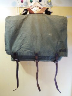 vintage canvas CAMPING BAG by PURTAGE PACK