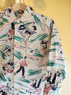 1950's DEER CREEK BRAND SHIRTs for KIDs DEADSTOCK GREEN