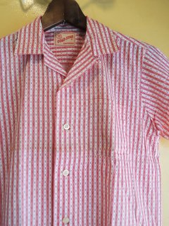 1960's GOLD STAR cotton striped SHIRTs DEADSTOCK