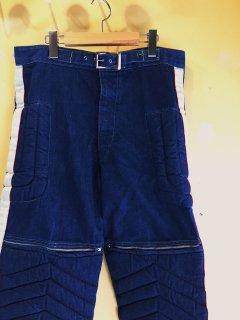 1970's denim MOTOCROSS pants