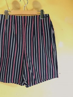1960's cotton striped SHORTs by BLUE BELL deadstock