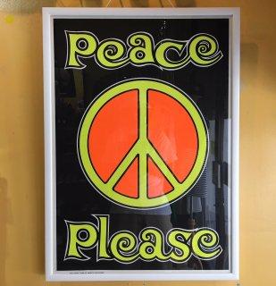 1969 Peace Please POSTER deadstock