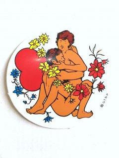 1970's deadstock erotic STICKERs ○-version �