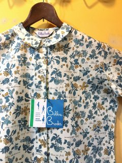 1960's all-over-prints deadstock blouse by Bobbie Brooks
