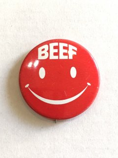 <img class='new_mark_img1' src='https://img.shop-pro.jp/img/new/icons2.gif' style='border:none;display:inline;margin:0px;padding:0px;width:auto;' />1980's BEEF INDUSTRY COUNCIL pinback button