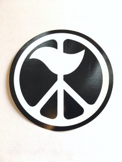 1970's peace-sign STICKERs deadstock �