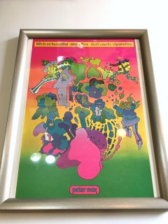 1960〜70's peter max POSTER